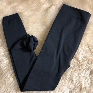 Pants - Plus Size High Waist Fleece Legging